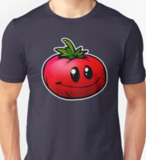 Funny Vegetables T-Shirt Red Tomato Cartoon Tee Gift T-Shirt