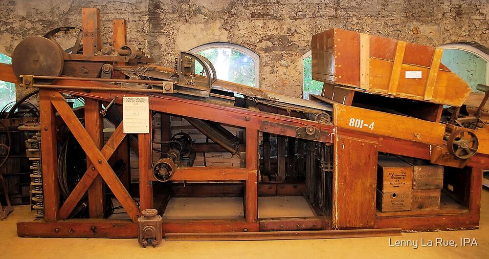 """Kimber"" dynamite packing machine, 1899 by Lenny La Rue, IPA"