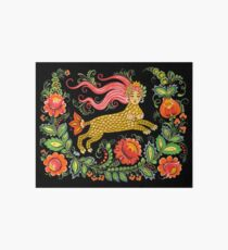 Magical Creature Folk Art (Lamia) Art Board