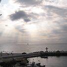 Sunrise at the Sea by Lidiya