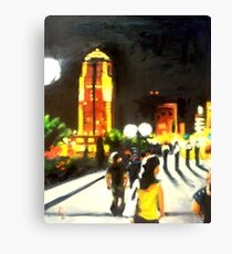 A Night Walk Canvas Print