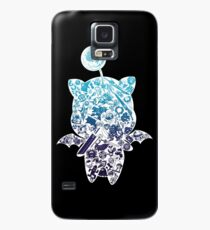 Moogle-verse (blue) Case/Skin for Samsung Galaxy