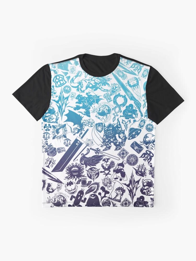 Alternative Ansicht von Moogle-verse (blue) Grafik T-Shirt