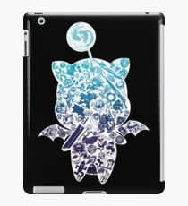 Moogle-verse (blue) iPad Case/Skin