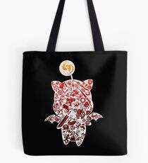 Final Fantasy Moogle-verse (red) Tote Bag
