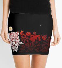 Final Fantasy Moogle-verse (red) Mini Skirt