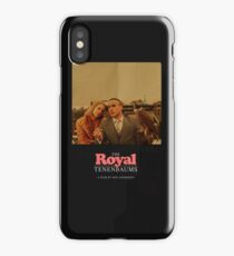 The Royal Tenenbaums - A Film by Wes Anderson  iPhone Case/Skin