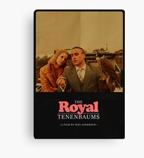 The Royal Tenenbaums - A Film by Wes Anderson  Canvas Print