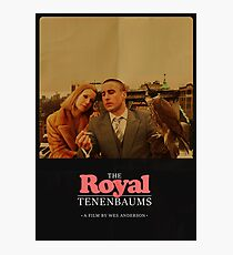 The Royal Tenenbaums - A Film by Wes Anderson  Photographic Print