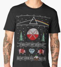 Hey Yule - Pink Christmas Men's Premium T-Shirt