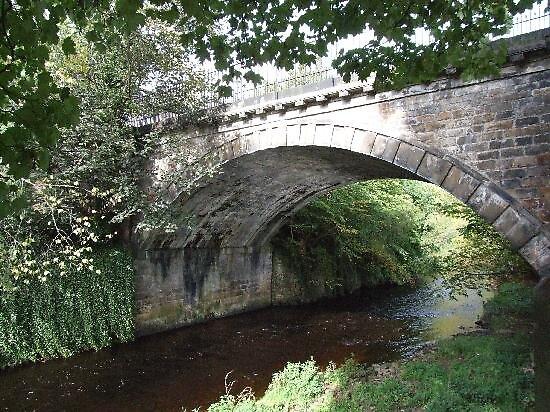 bridge at Dean village, Edinburg, Scotland by chord0