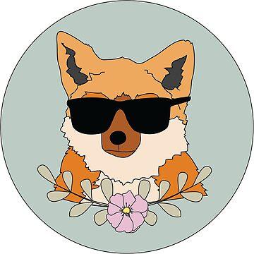 Floral Fox by Briiiiix33