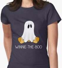 Winnie the boo! Halloween Shirts For Kids & Adults Boo Tee Women's Fitted T-Shirt