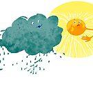 Regenwolke liebt Sonne von UHGrafik