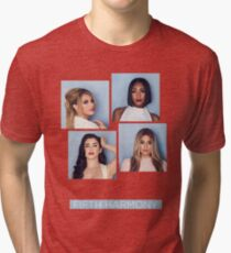 FIFTH HARMONY - BLOCKS Tri-blend T-Shirt