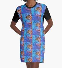 Autumn Daze Graphic T-Shirt Dress