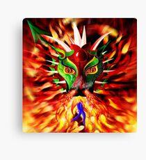 DRAGON FIRE Canvas Print