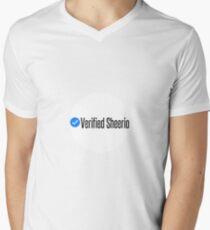 Verified Sheerio Men's V-Neck T-Shirt