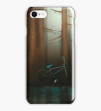 Mystery in the woods iPhone Case/Skin