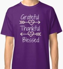 Thankful & Blessed Classic T-Shirt