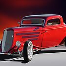 1933 Ford 'Three Window' Coupe II by DaveKoontz