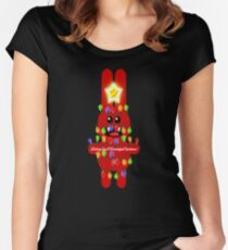 CHRISTMASRABBIT Women's Fitted Scoop T-Shirt