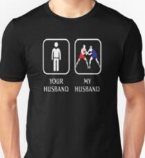 Husband Wrestling Love- cool shirt,geek hoodie,tan T-Shirt