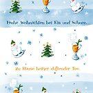 Weihnachtskarte von UHGrafik