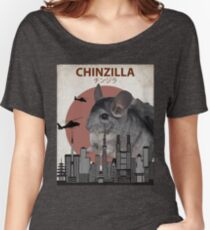 Chinzilla - Giant Chinchilla Monster Women's Relaxed Fit T-Shirt