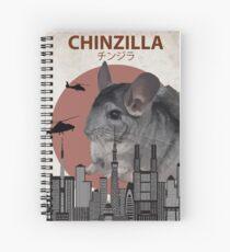 Chinzilla - Giant Chinchilla Monster Spiralblock