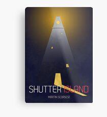 Shutter Island Poster Metal Print