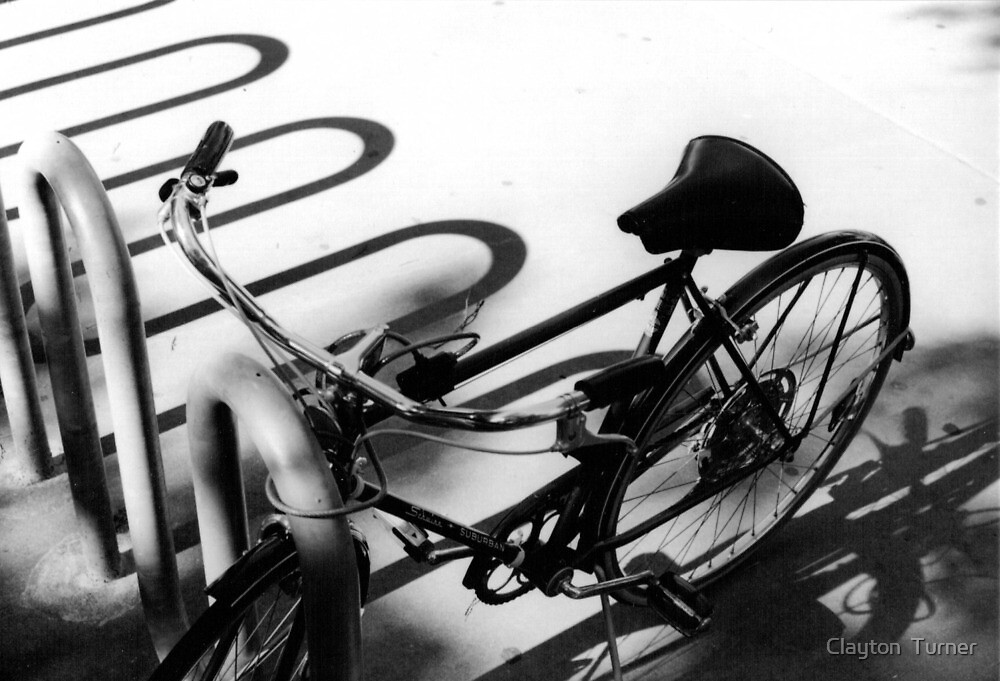 Bike Rack by Clayton  Turner