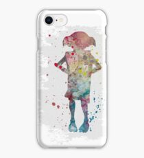 Dobby watercolor iPhone Case/Skin