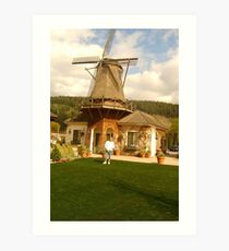 THE WINDMILL IN SUMNER Art Print