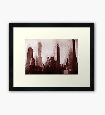 Park Avenue and 39th Street No. 9, Series 8h Framed Print