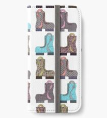 Beaucoup Beautiful Boots iPhone Wallet/Case/Skin