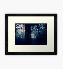 Penn Station Interior No. 13, Series 8c Framed Print