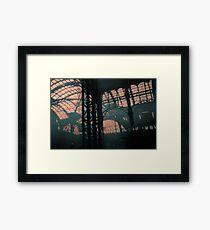 Penn Station Interior No. 13, Series 8e Framed Print