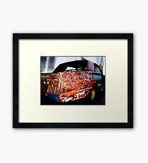 colorful cruiser Framed Print