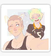 Tanaka siblings  Sticker