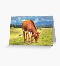 Austrian Country Life Greeting Card