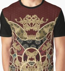 Baroque Japanesque decoration red Graphic T-Shirt
