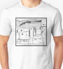 Arizona cliff dwelling Unisex T-Shirt