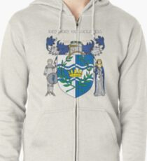 Kingdom of Atlantia Zipped Hoodie