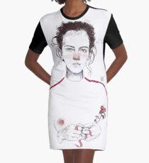 LA LUCHADORA by elenagarnu Vestido camiseta