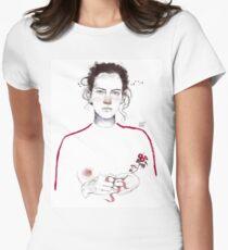 LA LUCHADORA by elenagarnu Fitted T-Shirt