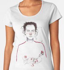 LA LUCHADORA by elenagarnu Women's Premium T-Shirt