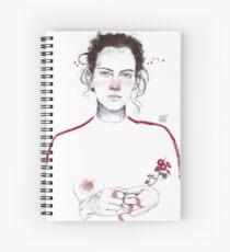 LA LUCHADORA by elenagarnu Spiral Notebook