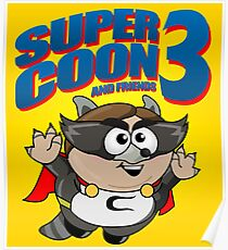Super Coon! Poster