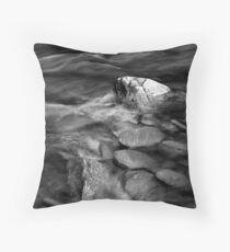 Granite Shores Throw Pillow